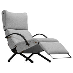 Osvaldo Borsani Lounge Chair Model P40 for Tecno, Italy