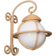 Rope Wall Light by Audoux-Minet