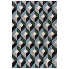 Bonavita Hand Knotted Rug in Wool by Suzanne Sharp