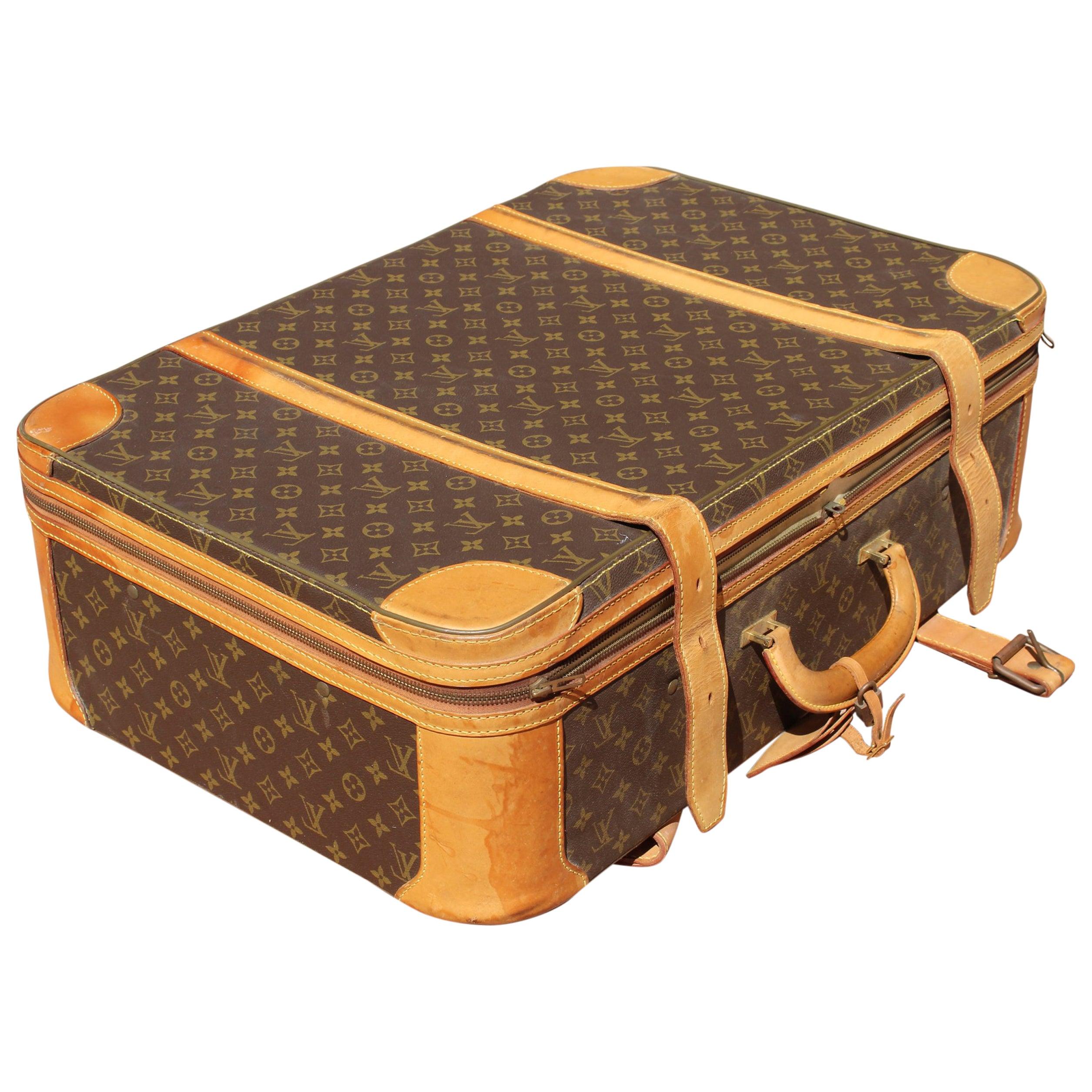 1980s Vintage Louis Vuitton Suitcase
