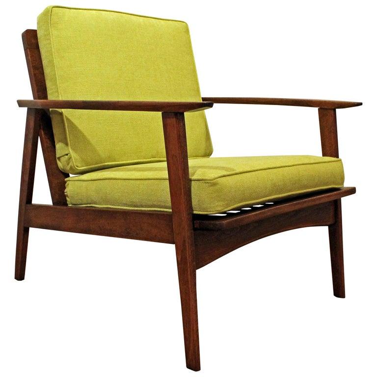 Mid Century Modern Armchairs: Mid-Century Modern Armchair Carlo Mollino Style Period