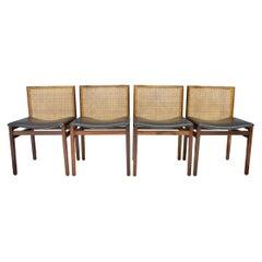 Tito Agnoli Dining Room Chairs, Italy, 1960s (8)