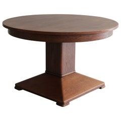 1920s German Oak Table