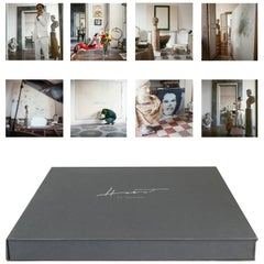 Cy Twombly Rome Portfolio #2, Eight Archival Pigment Prints Matted in Box