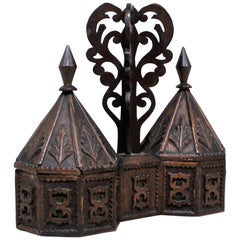 Victorian Moorish Style Wood Box