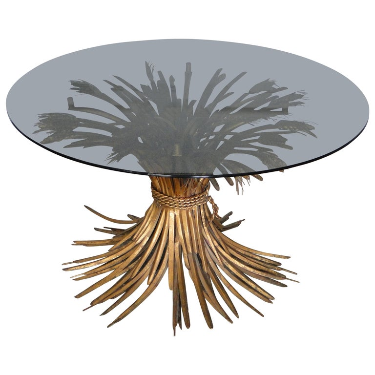 Sheaf Of Wheat Sofa Table Coco Chanel Robert Goossens