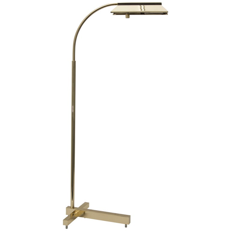 Brass Floor Lamp
