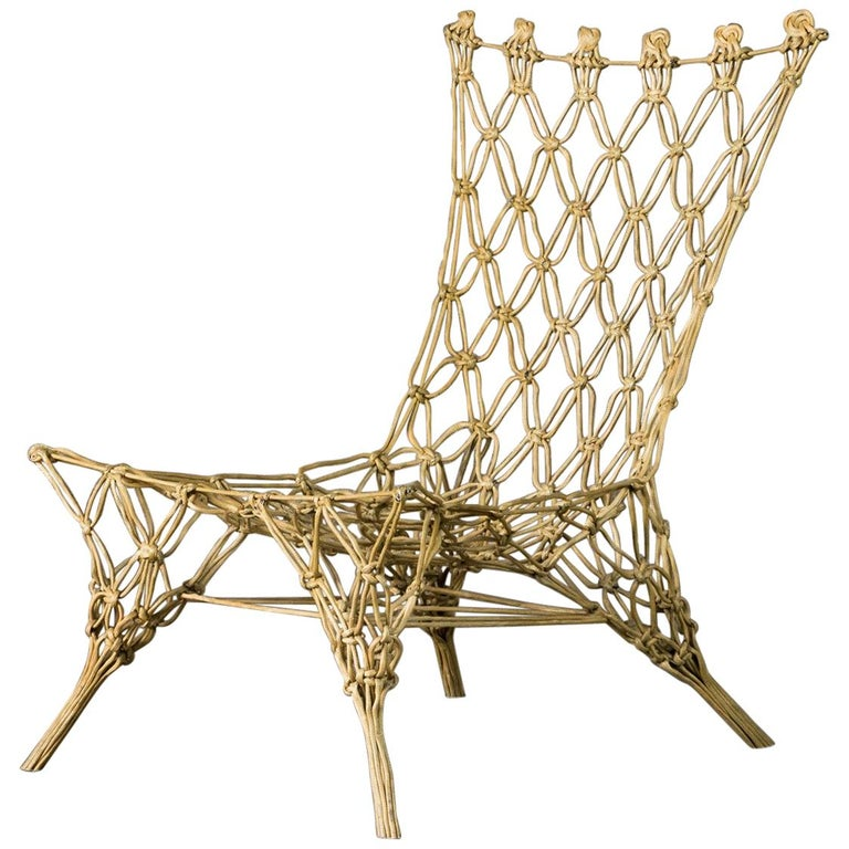Marcel Wanders Knotted Chair for Cappellini