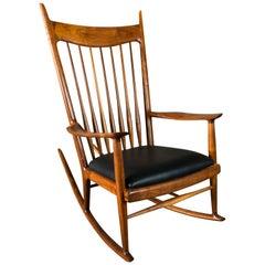 Sam Maloof Walnut Rocking Chair