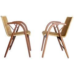 Rare Armchairs by Kipp Stewart for Glenn of California