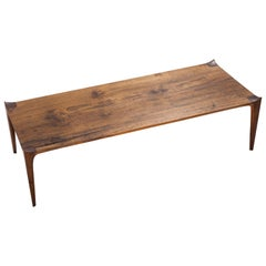 Brazilian Walnut Coffee Table, Contemporary Design