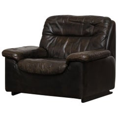 High Back Reclining De Sede Lounge Chair
