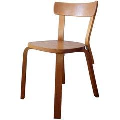 Alvar Aalto Chair 69 Artek Finsven, Sweden, 1940s
