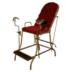 1930s Vintage Gynecological Chair