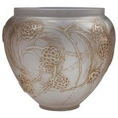 René Lalique Nefliers Vase