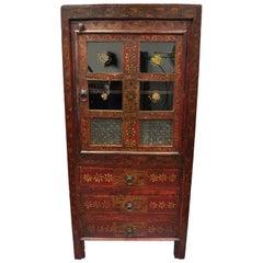 Primitive Case Pieces and Storage Cabinets