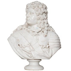 Marble Bust of Louis XIV