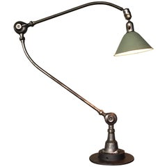Triplex Industrial Lamp Designed by Johan Petter Johanson in the 1930s