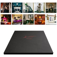 Paloma Picasso/ 1985-Portfolio of 8 Matted Pigment Prints in an Embossed Box