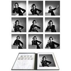 Diana Vreeland Portfolio, 9 Archival Pigment Prints Matted in Embossed Box