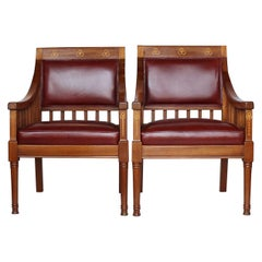 Pair of Arts & Crafts Armchairs