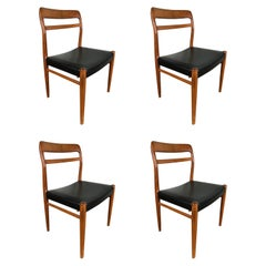 Alf Aarseth Teak Dining Chairs