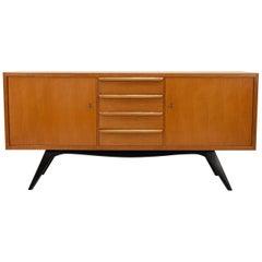 Sideboard Birchwood 1950s Cees Braakman