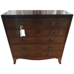 English Regency Commode Chest of Drawers