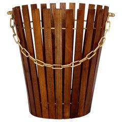 Ashwood Paper Basket, Austria, 1960s