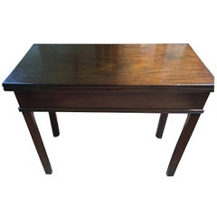 English Chippendale Game Table