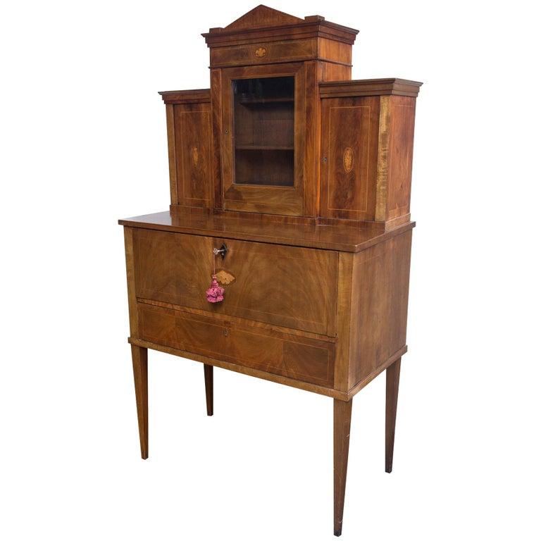 19th Century Drop Front Secretary Desk