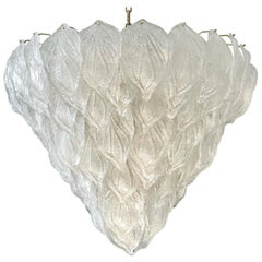 Fabulous Murano Glass Polar Chandelier, 1970s