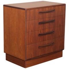 G Plan Teak Four-Drawer Dresser by VB Wilkins, 1950s