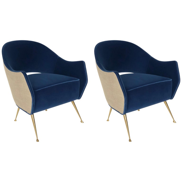 Pair of Briance Chairs by Bourgeois Boheme Atelier