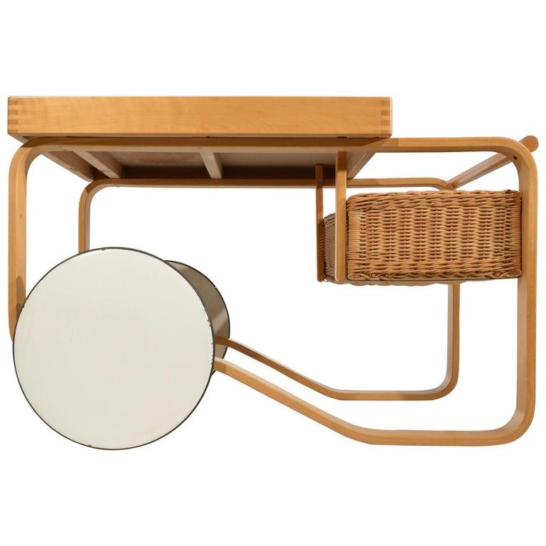 Alvar Aalto for Artek Tea Cart Model 900