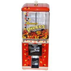 1950s Northwestern Reese's Pieces Themed Candy Machine