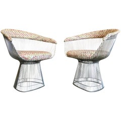 Set of Two Midcentury Chairs by Warren Platner for Knoll Chairs