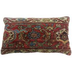 Bolster Persian Heriz Rug Pillow
