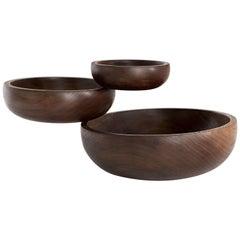 Wood Balance Bowls