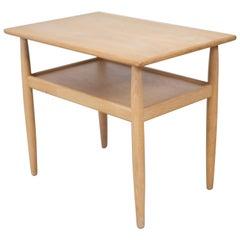 Side Table in Oak by Vitzé, Denmark