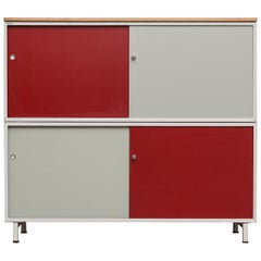 Extra Large Gispen Industrial Metal Cabinet