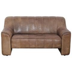 De Sede DS 44 2-Seat Sofa in Buffalo Leather, Switzerland, 1970s