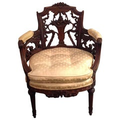 Fine French Vanity Chair