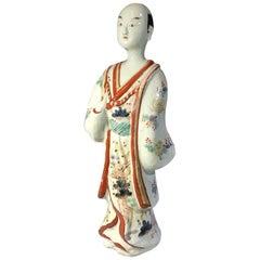 Japanese Arita Porcelain Figure of a Man, circa 1700