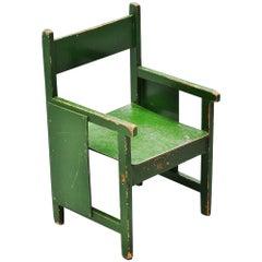 Ado Ko Verzuu Kids Chair, Holland, 1932