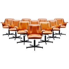 Carlo Fongaro Probjeto Office Chairs, Brazil, 1975