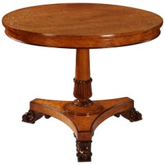 Fine Pollard Oak Occasional Table by George Morant & Son