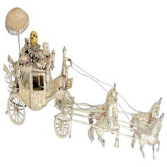 Silver Carriage, Early 20th Century