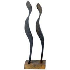 """People"" Sculpture by Tolleck Winner, Bronze, 2006"