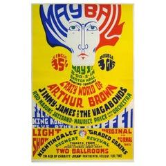 Original Pontins May Ball Poster